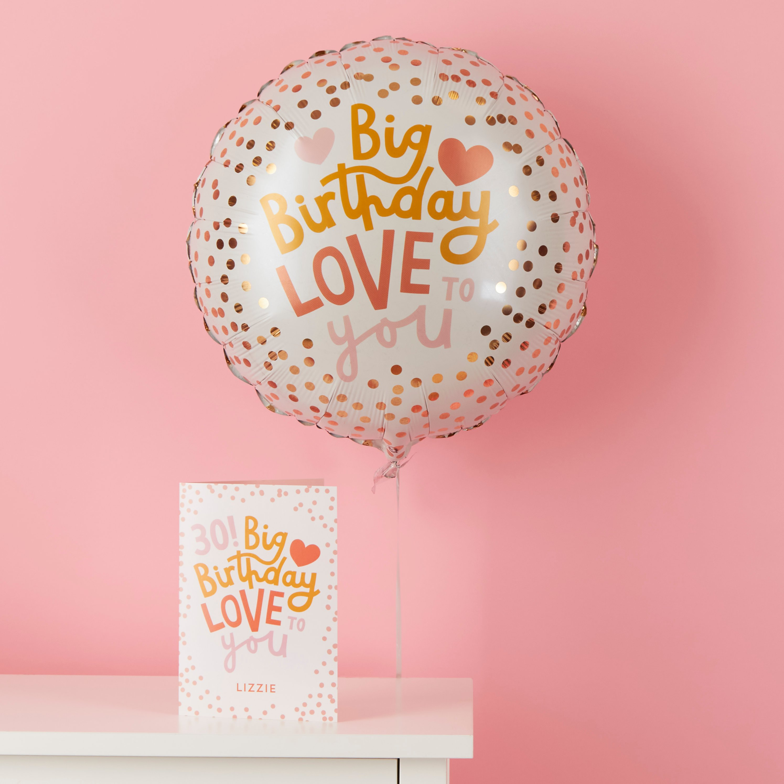 Big Birthday Love To You Gift Set By Moonpig - Delivery Available