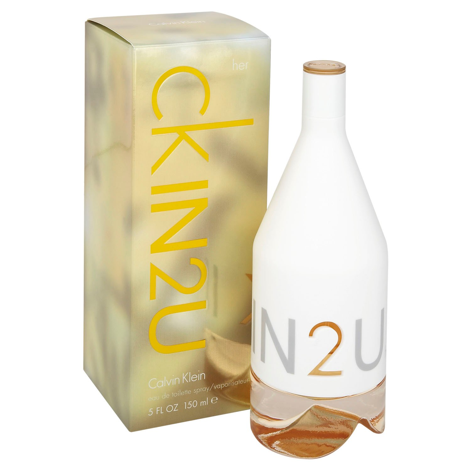 Calvin Klein In2U For Her Eau De Toilette 150ml Gift Set By Moonpig - Delivery Available