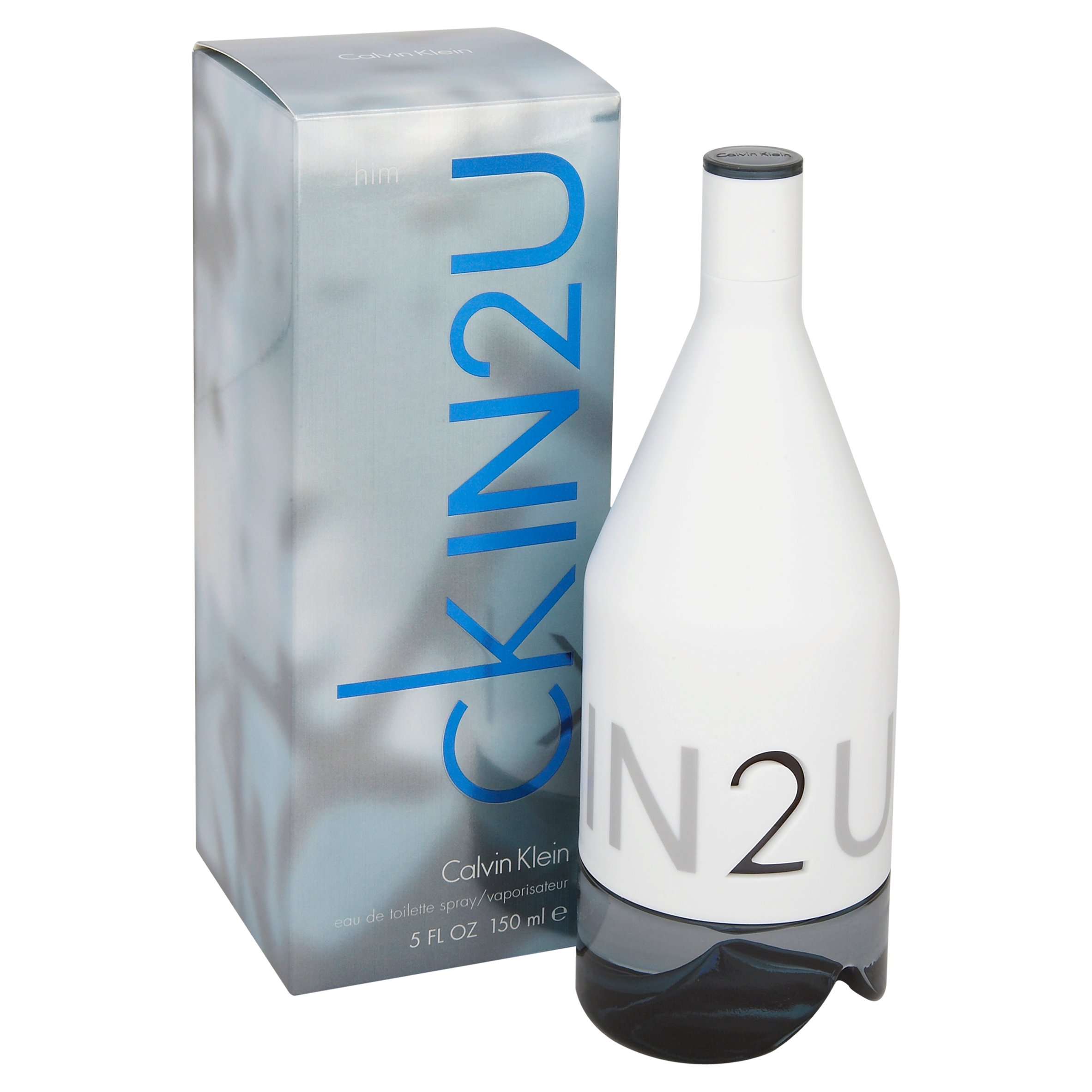 Calvin Klein In2U For Hi'm Eau De Toilette 150ml Gift Set By Moonpig - Delivery Available