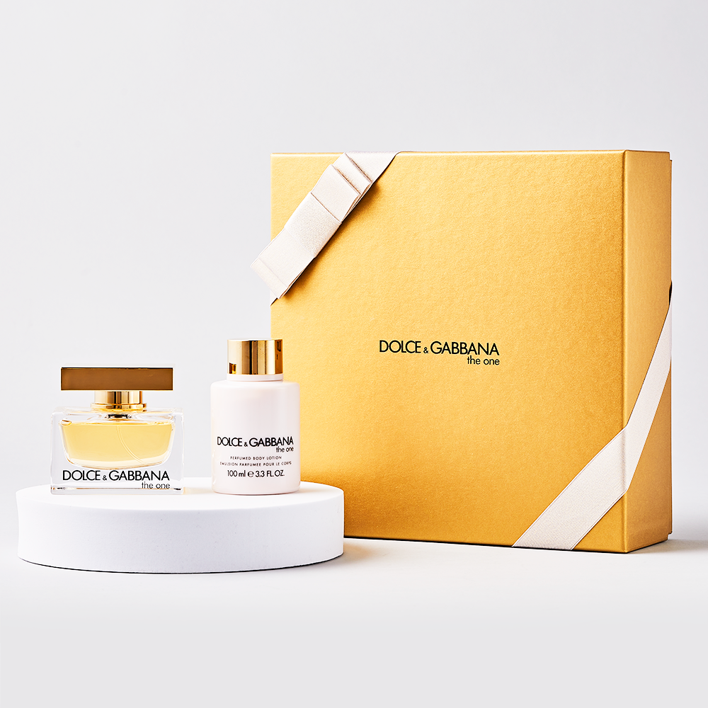 Dolce & Gabbana The One Eau De Parfum 50ml Gift Set By Moonpig - Delivery Available