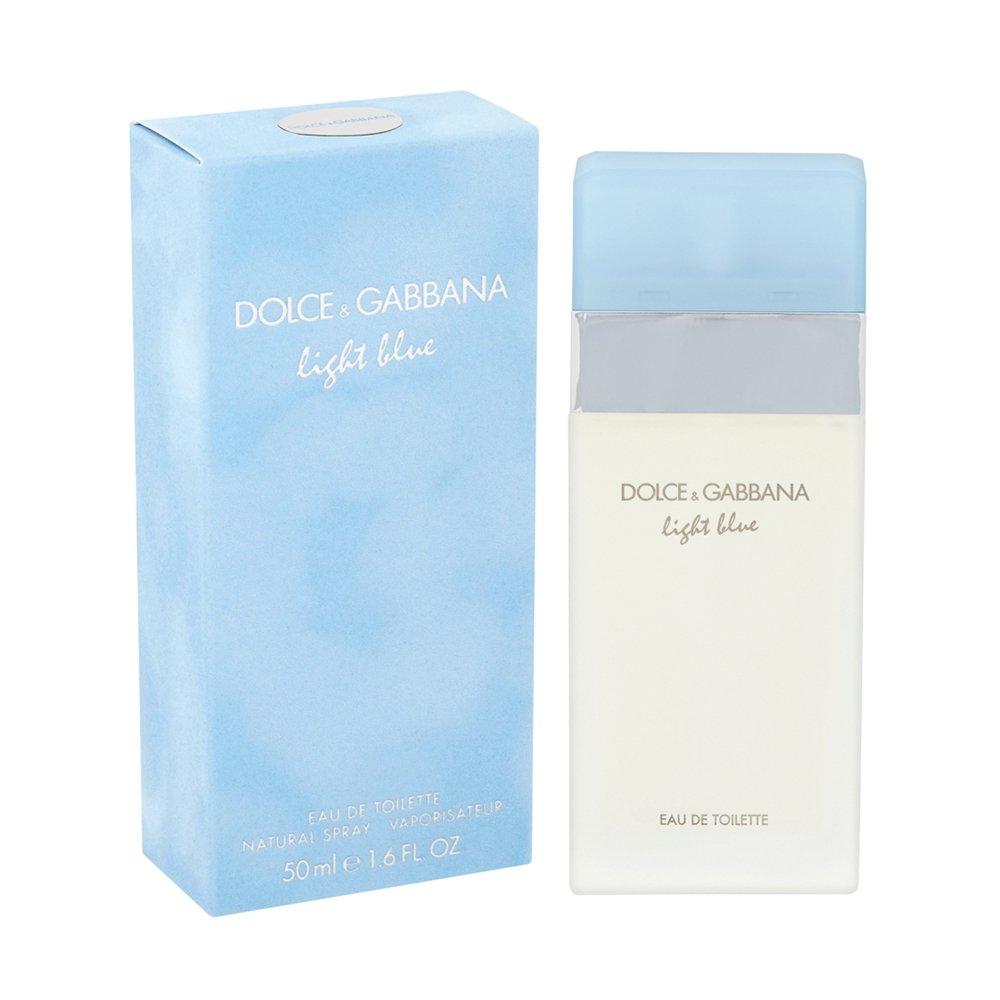 Dolce & Gabbana Light Blue Eau De Toilette 50ml Gift Set By Moonpig - Delivery Available