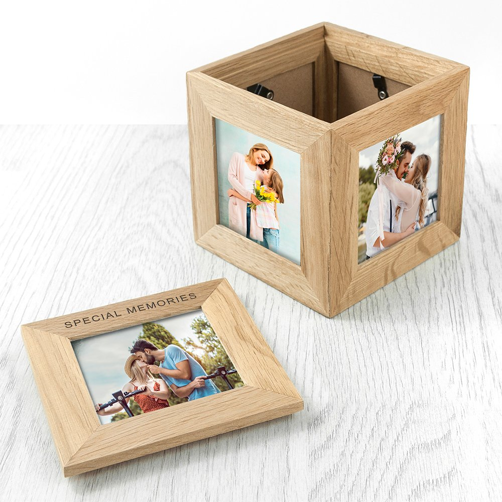 Special Memories Engraved Oak Photo Keepsake Box Gift Set By Moonpig - Delivery Available
