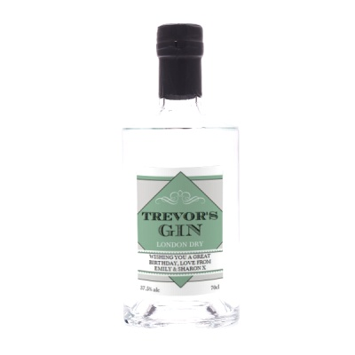 Birthday Edition Personalised London Dry Gin 70cl Gift Set By Moonpig - Delivery Available