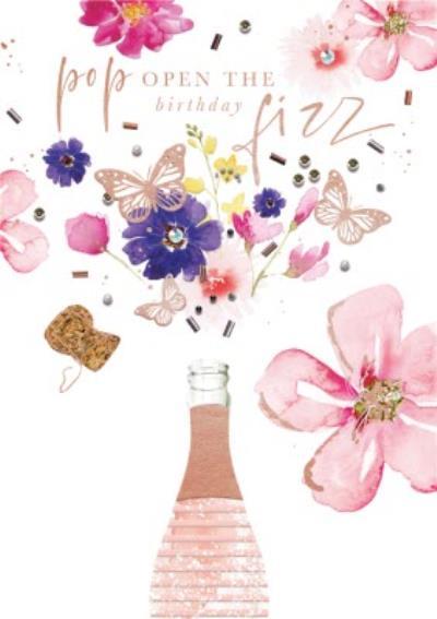 Pop Open The Birthday Fizz Card