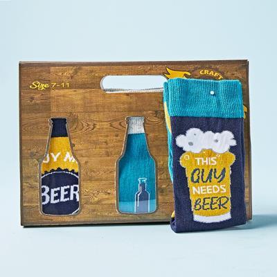 Beer Socks 3-Pack Gift Set