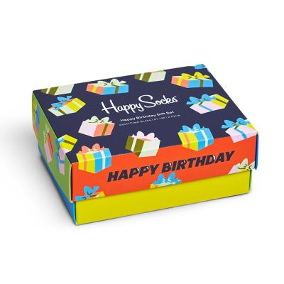 Happy Socks Happy Birthday 2-Pack Gift Set
