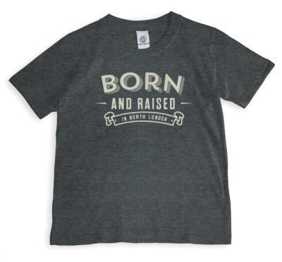 Born & Raised Personalised T-Shirt
