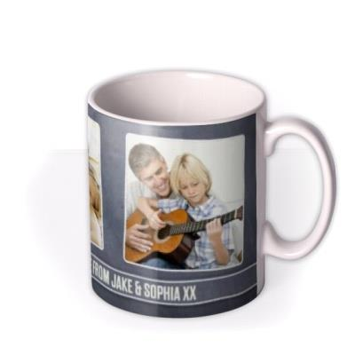 Father's Day Award Photo Upload Mug