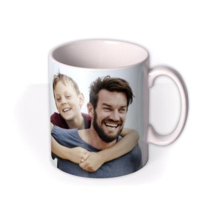 Father's Day Banner Photo Upload Mug