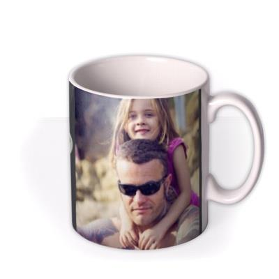 Father's Day Strong Photo Upload Mug
