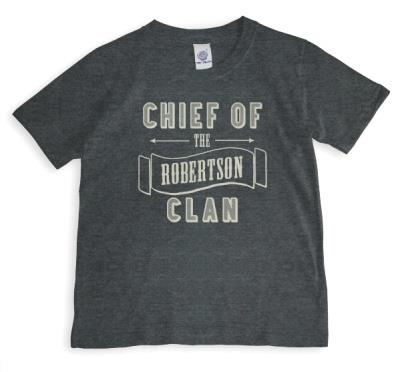 Father's Day Clan Chief Personalised T-Shirt