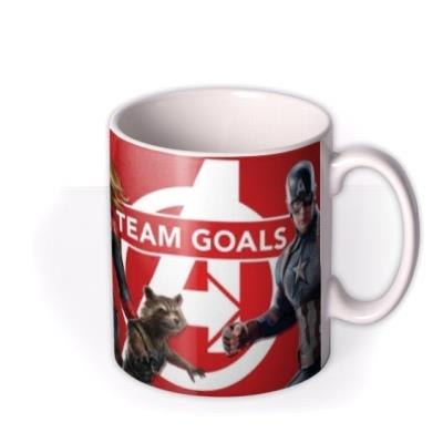 Marvel The Avengers Team Goals Photo Mug