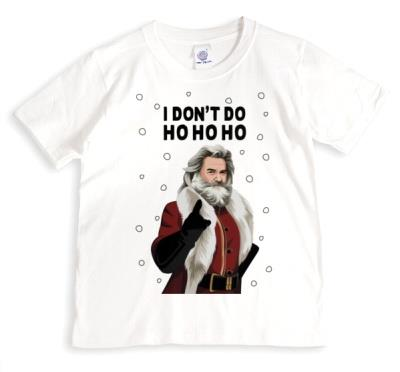 I Dont Do Ho Ho Ho Funny Spoof Tshirt