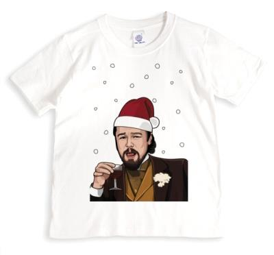 Laughing Meme Christmas Funny Spoof Tshirt