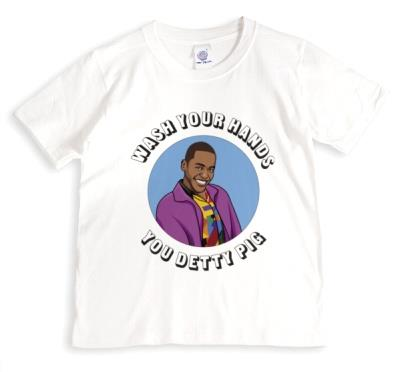Wash Your Hands Your Detty Pig Funny Spoof Tshirt