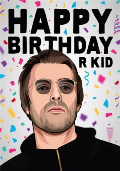 Happy Birthday R Kid Music Card
