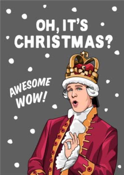 Awesome Wow Christmas Musical Spoof Christmas Card