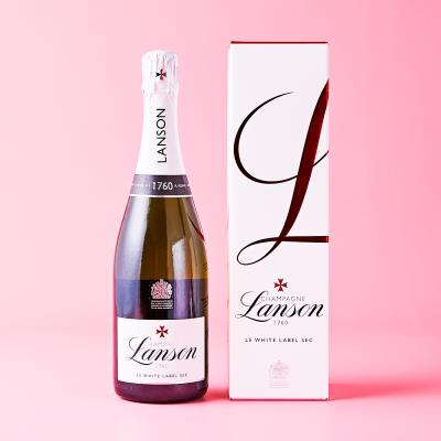 Lanson Le White Label Sec Champagne 75cl