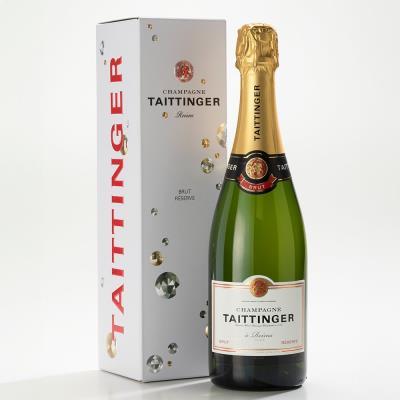 Brut NV Taittinger Champagne 75cl Gift Box