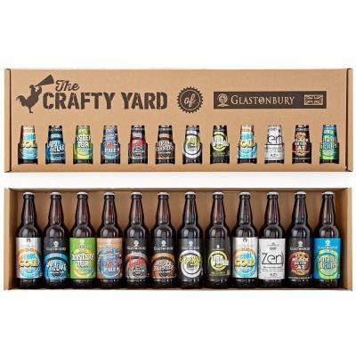 12 Bottle Crafty Yard Beer Gift Pack (12x500ml)