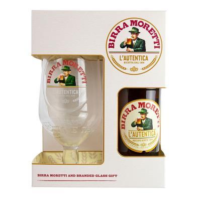 Birra Moretti Beer Gift Set