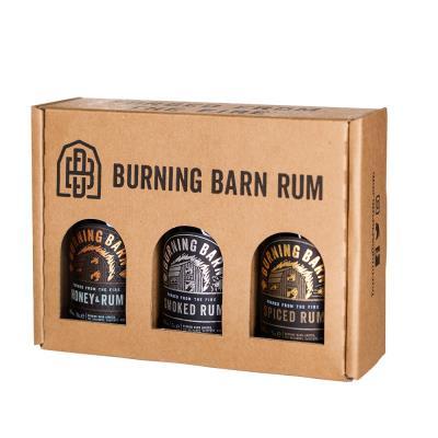 Burning Barn Rum Gift Set 3 X 5cl