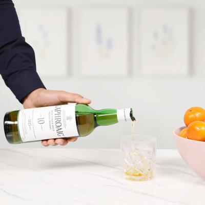 Laphroaig 10 Year Old Single Malt Whisky 70cl