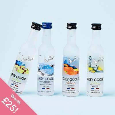 Grey Goose Vodka Miniatures Gift Set
