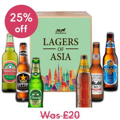 Traditional Beer Company Lagers of Asia Case of 6