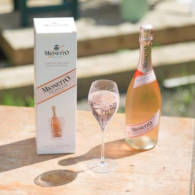 Mionetto Prosecco Rosé Ice Bucket Gift Set