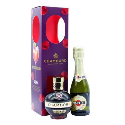Chambord & Martini Prosecco Gift Pack