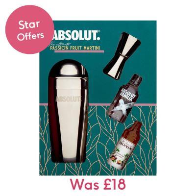 Absolut Vodka Cocktail Kit