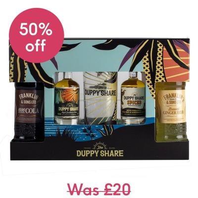 The Duppy Share Rum Gift Set