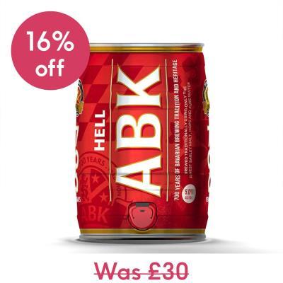 ABK Hell 5L Mini Keg