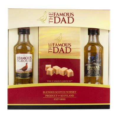 The Famous Grouse Whisky and Fudge Gift Set