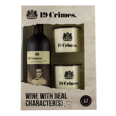 19 Crimes and Tin Cups Gift Set