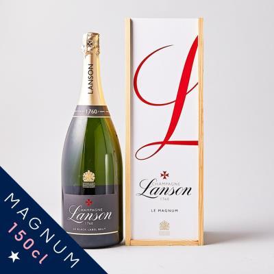 Lanson Black Label Magnum Champagne Gift Box