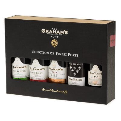 W&J Graham's Finest 5cl Port Collection