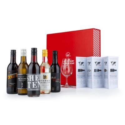 Virgin Wines Red and White Wine Tasting Box