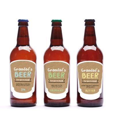 Grandad's Personalised Beer Trio