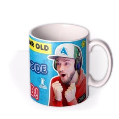 Ali A Warning In Gaming Mode Do Not Disturb Birthday Mug