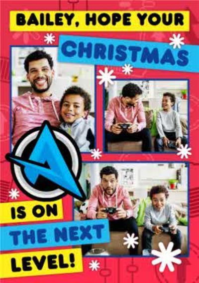 Ali A Next Level Christmas Photo Upload Card