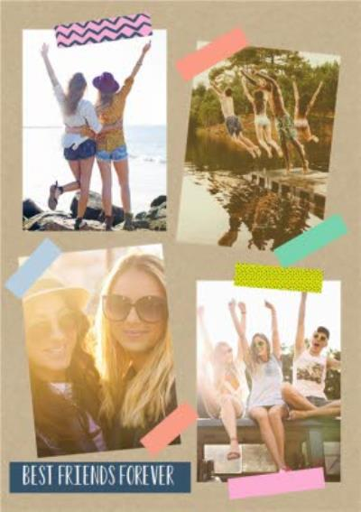 Photo Upload Best Friends Forever Card