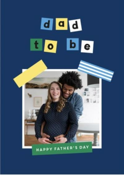 Father's Day Photo Card From The Bump