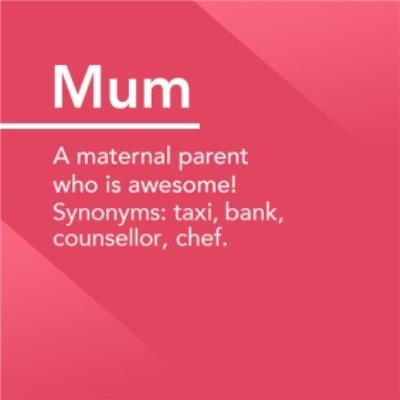 Mother's Day Card - Mum - funny