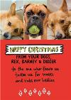 Happy Christmas From The Dogs Photo Upload Card