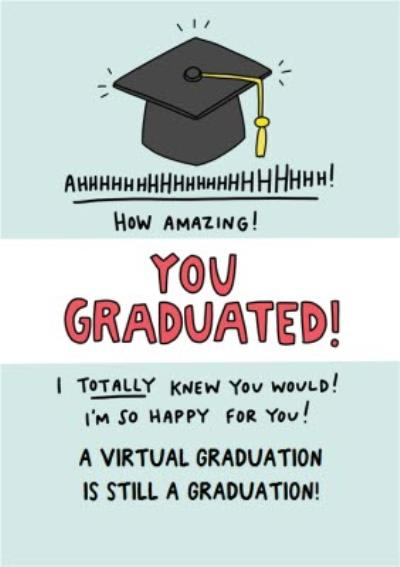 Angela Chick Virtual Graduation Card