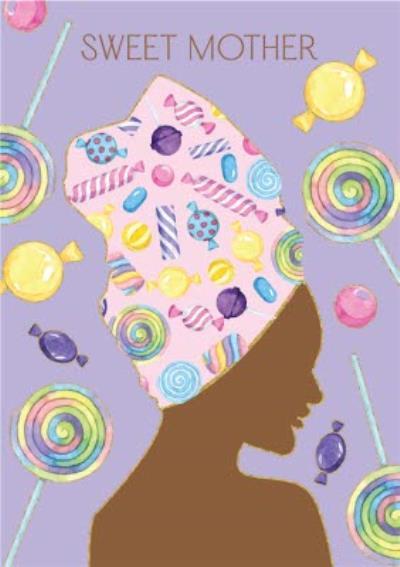 Anoela Sweet Mother Illustration Card