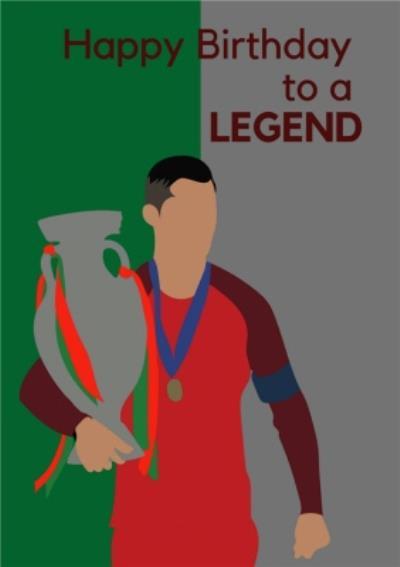 Anoela Football Happy Birthday To A Legend Card