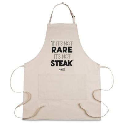 Personalised If It's Not Rare It's Not Steak Apron